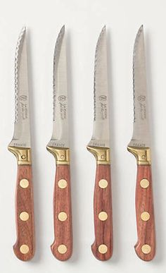 a set of good steak knives is a great housewarming gift