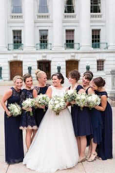Navy and gold wedding - http://fabyoubliss.com/2015/08/07/navy-and-gold-lakeside-wedding