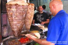Shawarma Street Vendor, Tripoli, Lebanon