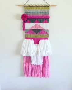 Wall hanging weave