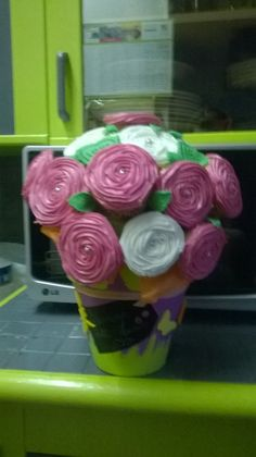 Gateau bouquet