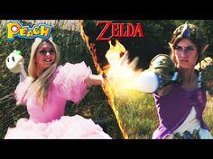 Baston entre Zelda et Peach - Geek, Vidéos Youtube