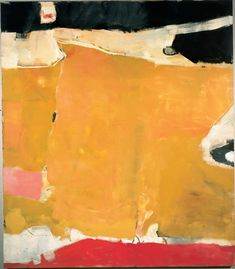 by artist Richard Diebenkorn #abstract #painting #colorful