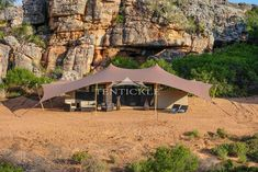 The Luxury Explorer Safari Tent offers guests wide sweeping vistas while enjoying all the creature comforts of five star luxury. Luxury Tents, Creature Comforts, Luxury Living, Gazebo, Safari, Outdoor Structures, Explore, Mansions, House Styles