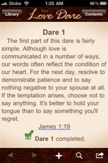 Fireproof Your Marriage: Day One Challenge~ PATIENCE
