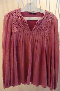 Beautiful Isabel Marant vintage peasant blouse
