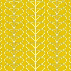 Linear Stem Wallpaper    http://www.orlakiely.com/uk.cfm/house/wallpaper/0WALLST501/22066/Mimosa/