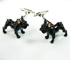 The #safari collection #enamel 3 d boston terrier dog lovers #cufflinks cuff link,  View more on the LINK: http://www.zeppy.io/product/gb/2/400599330340/
