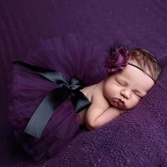 Babyfotografie ♥ Haarband Babyfotoshooting Neugeborenenfotografie Babyfoto ♥