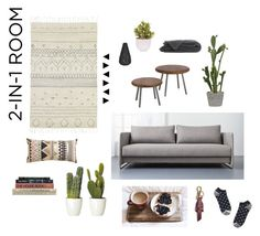 """2-In-1 Room"" by simplestripes ❤ liked on Polyvore"