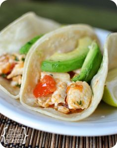 Skillet Cilantro and Lime Fish Tacos