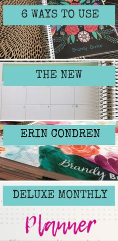 Seriously loving the Deluxe Monthly planner way more than I thought I ever would - if you're wondering how you could use a planner that doesn't have a weekly spread, check out this post. Erin Condren Monthly Planner, Planner Tips, Planner Layout, Planner Supplies, Happy Planner, Printable Planner Stickers, Printables, Best Planners, Personal Planners