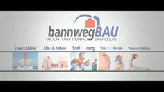 Der Imagefilm der Firma bannwegBAU ist online - weitere Infos auf www.bannwegbau.de