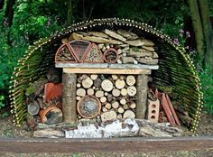 Loads of lovely ideas for bug hotels. Great Eco site.