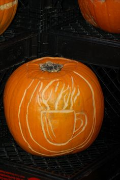 Now that cooler temperatures have come to the Northeastern U.S., a nice, hot cup of coffee sounds like a good idea when one is visiting pumpkin festivals. Need some last-minute ideas for carving that Halloween pumpkin? Check this out: http://landscaping.about.com/od/galleryoflandscapephotos/ss/pictures-for-pumpkin-carving-ideas.htm