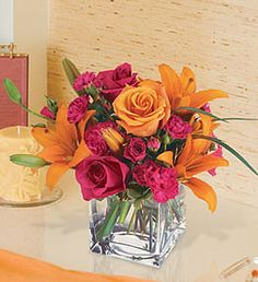 199 best tangerine and pink weddings images on pinterest orange orange and pink flowers love this color combo mightylinksfo