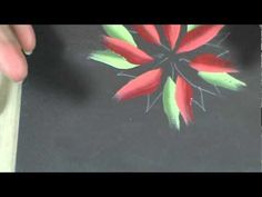 How to Paint Poinsettias with a Flora Brush by Chris Haughey (+playlist)