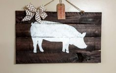Check out this item in my Etsy shop https://www.etsy.com/listing/475344370/pig-decor-pig-sign-farm-animal-signs