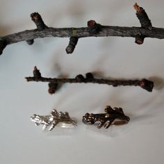 Branch Ring Sterling Silver by TheAngryWeather on Etsy, $55.00