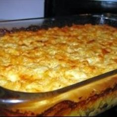 World's Best Macaroni & Cheese... oh my goodness - no more boxed Mac! This is super yummy - I add breadcrumbs to the top :) Mmmmm!