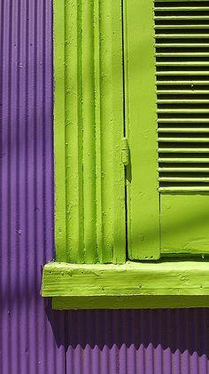 Purple/Violet  / Lime