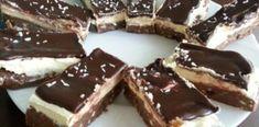 Mennyei finom sütés nélküli csokoládés vaníliás kocka! Édes, krémes csoda! Food, Essen, Meals, Yemek, Eten