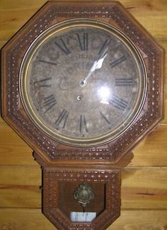 Vintage D Amp A Regulator Clock Wall Clock School House Clock