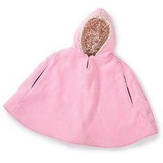 This adorable cape is made from cuddle fleece – it's like wearing a cuddle blanket!  With the soft hood that has the option of adding bear ears, cat ears or horns, this cape is so cute …