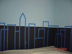 Easy way to do long wall in Ryan's room