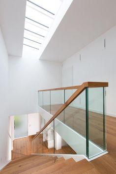 Treppe mit Oberlicht