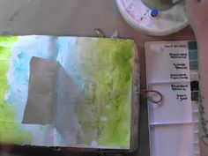 inspiration wednesday 10.30.13 mixed-media art journal- from Journal goddess Donna Downey