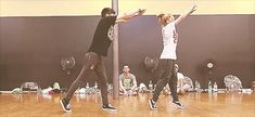 Chachi Gonzales and Ian Eastwood dancing