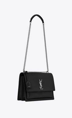 a12e0616c3f Saint Laurent SUNSET Large In Smooth Leather