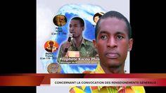 CONCERNANT LA CONVOCATION DU PROPHETE KACOU PHILIPPE PAR LES RENSEIGNEME...