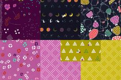 Mochi by Rashida Coleman-Hale for Cotton + Steel (Note: both yardage and charm packs)
