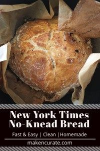 Impress your foodie friends with this New York Times No-Knead Bread. This recipe is incredibly easy and will result in one of the best crusty loaves you will ever have. No Knead Dutch Oven Bread Recipe, Ny Times No Knead Bread Recipe, New York Times Bread Recipe, Bread Recipes, Baking Recipes, Oven Recipes, Vegan Baking, Bread Baking, Best Bacon Jam Recipe