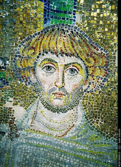 "Byzantine mosaic of a Saint, ""Rotond, Thessaloniki, Greece,"" © Ivan Vdovin - http://www.agefotostock.com/en/Stock-Images/Rights-Managed/N19-500611"