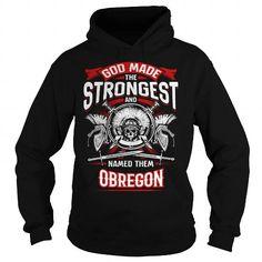 I Love OBREGON, OBREGONYear, OBREGONBirthday, OBREGONHoodie, OBREGONName, OBREGONHoodies Shirts & Tees