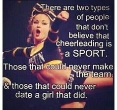 Cheerleading = life <3