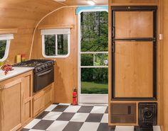 Retro Lightweight Travel Trailer Floorplans | Riverside RV