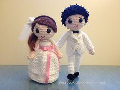 amigurumi wedding doll