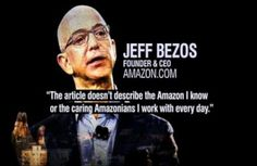 Amazon employees claim they were encouraged to criticize each other's ideas. Amazon's owner confronts criticism. #SSGResume