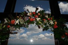 Flowers for the Cliffs Chapel (As seen in TALK Magazine) by Twigs in Greenville, SC.