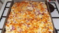 Jeśli tylko macie ochotę, możecie poeksperymentować z dodatkami! Slovak Recipes, Russian Recipes, Bread Recipes, Cooking Recipes, A Food, Food And Drink, Flatbread Pizza, Lasagna, Macaroni And Cheese