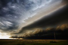 Layers of storm clouds, amazing. (by Camille Seaman)