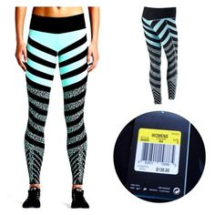 BRAND NEW WITH TAGS❗️$135 originally! Amazing print! ❤️Nike Legendary Mezzo Zebra tights. Full length (long). Tight fit. Size Small, but they are compressive enough so I believe they might work for XS too. Dri-Fit. Mid rise / high waist. Small rear pocket inside of the waist band. Colors Aqua / Black. # athletic pants # running # yoga #soccer # cycling ❗️please see more workout apparel in my closet