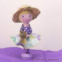Tutorial for Peg People and Clothespin Dolls: Add Accessories to Dress Your Clothespin Dolls