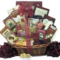 Great Arrivals Chocolate Gift Basket, Chocolate Cravings - http://bestchocolateshop.com/great-arrivals-chocolate-gift-basket-chocolate-cravings/