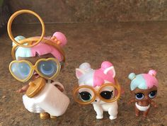 Beautiful!! Ahhh just realized I should have put lil sugar's glasses OB darn it!!!#loldoll's #lolpet's #lolcharm's #lolBIGball's #MGA #Entertainment #collector #ofallCuteness