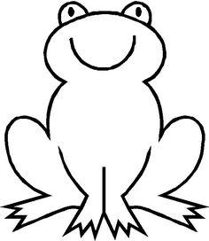 Afbeeldingsresultaat voor tekening kikker